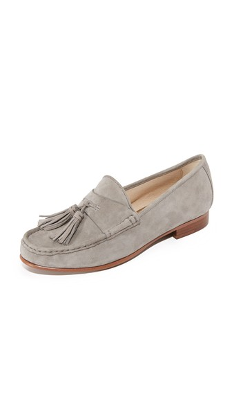 91c20126e1d0 Sam Edelman Therese Tassel Loafers In Grey Frost