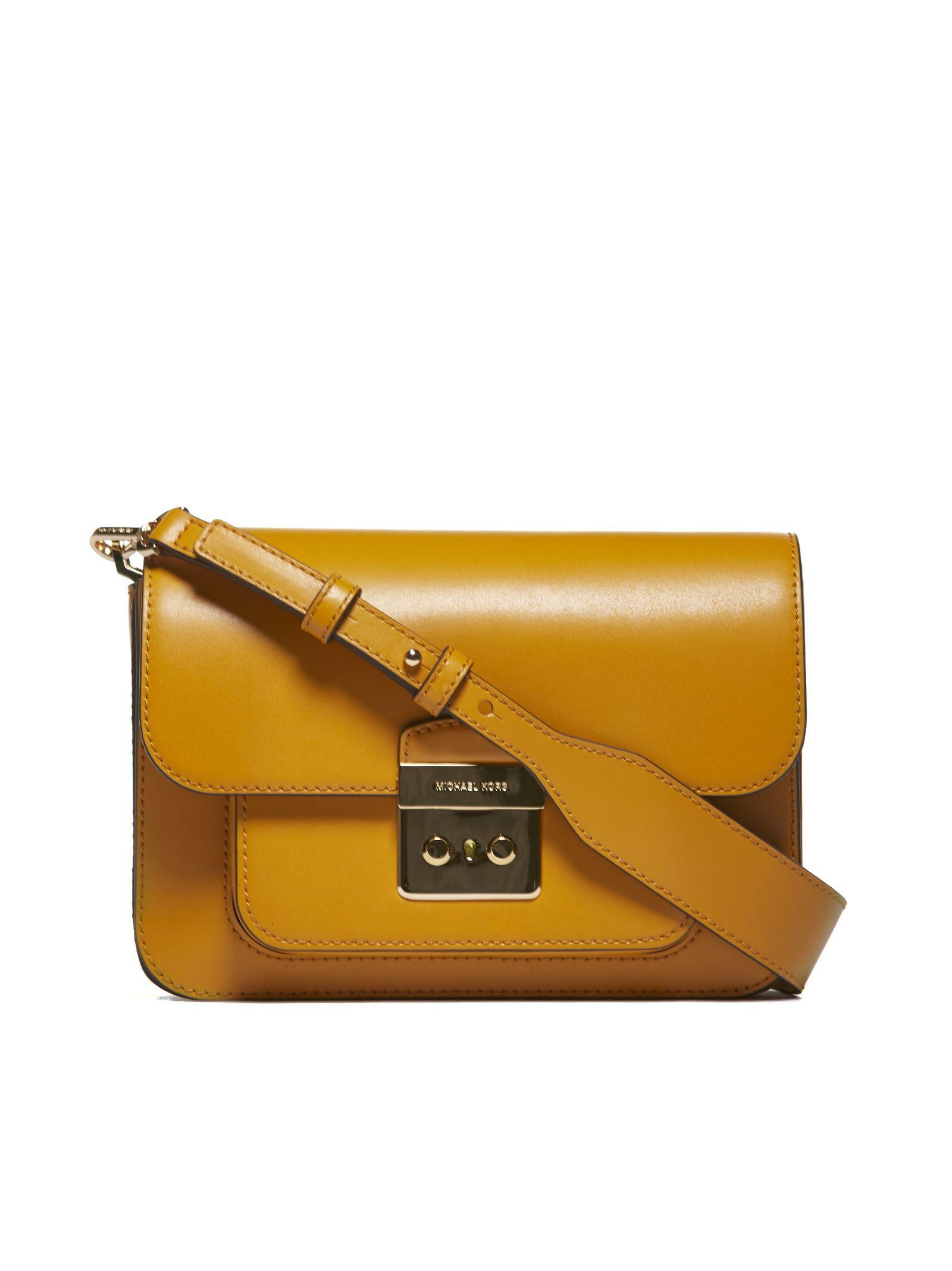 4e5c10b7d9b5 Michael Michael Kors Sloan Editor Shoulder Bag In Giallo Oro