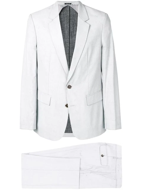 Maison Margiela Classic Tailored Suit In Grey