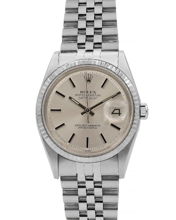 Rolex Pre-owned Men's 36mm Datejust Jubilee Bracelet Watch