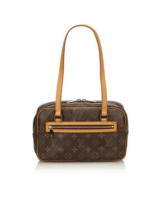 Louis Vuitton Pre-owned: Monogram Cite Mm In Brown