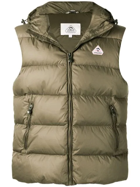 Pyrenex Spoutnic Padded Gilet In Green