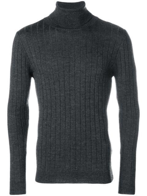 Barena Venezia Barena Plain Turtleneck Sweater - Grey