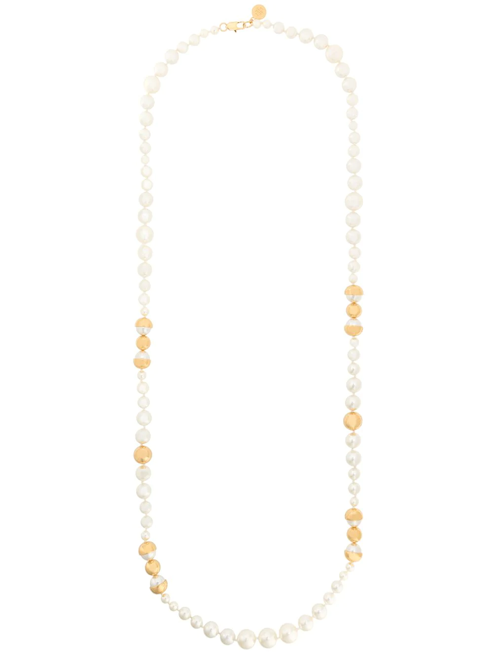 Tory Burch Pearl Necklace - White