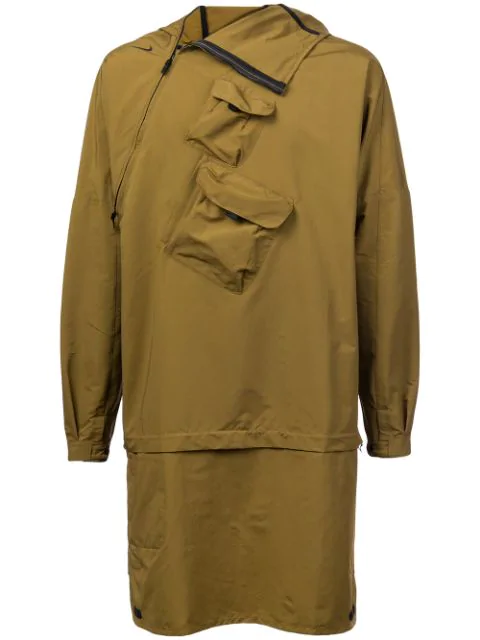 Nike Asymmetric Zip Jacket - Green