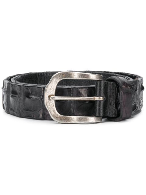 Ivo Scunzani Buckle Belt - Black