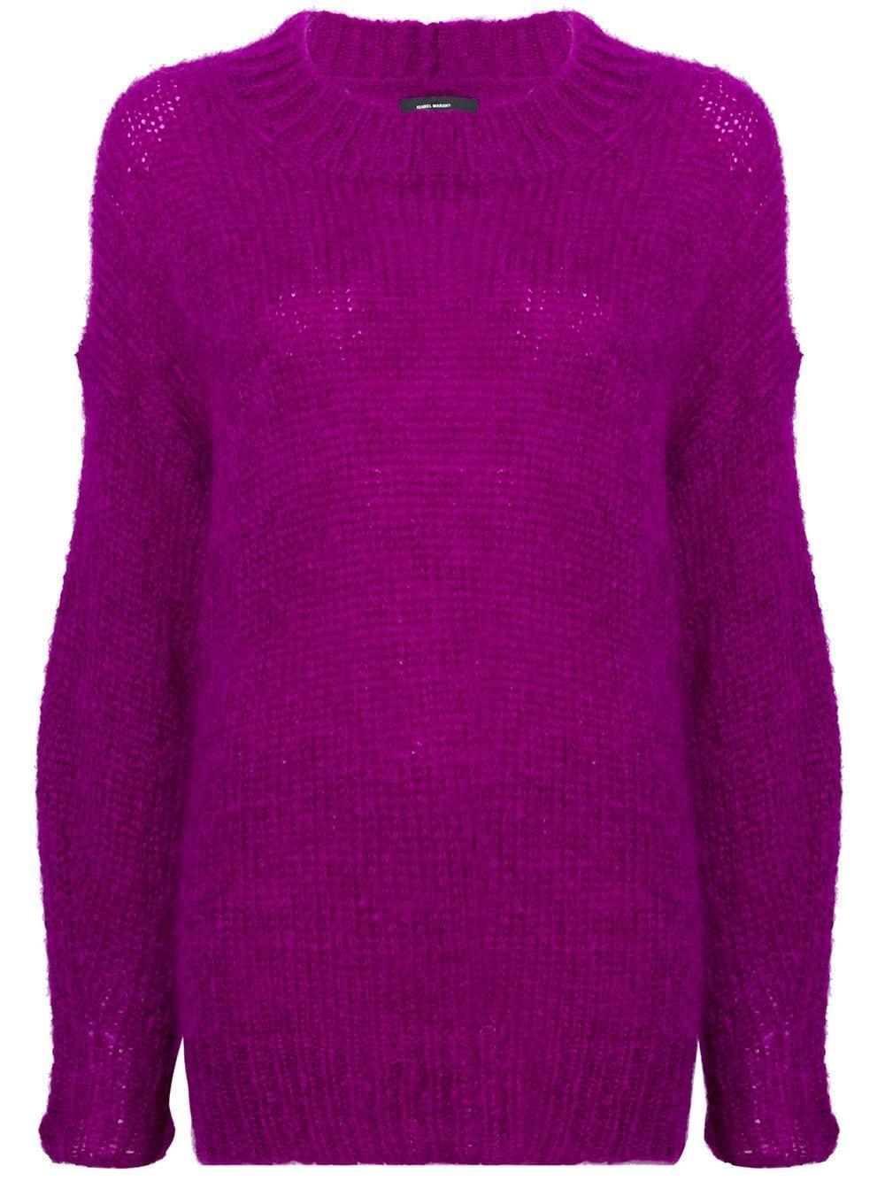 Isabel Marant Ivah Jumper - Pink In Pink & Purple