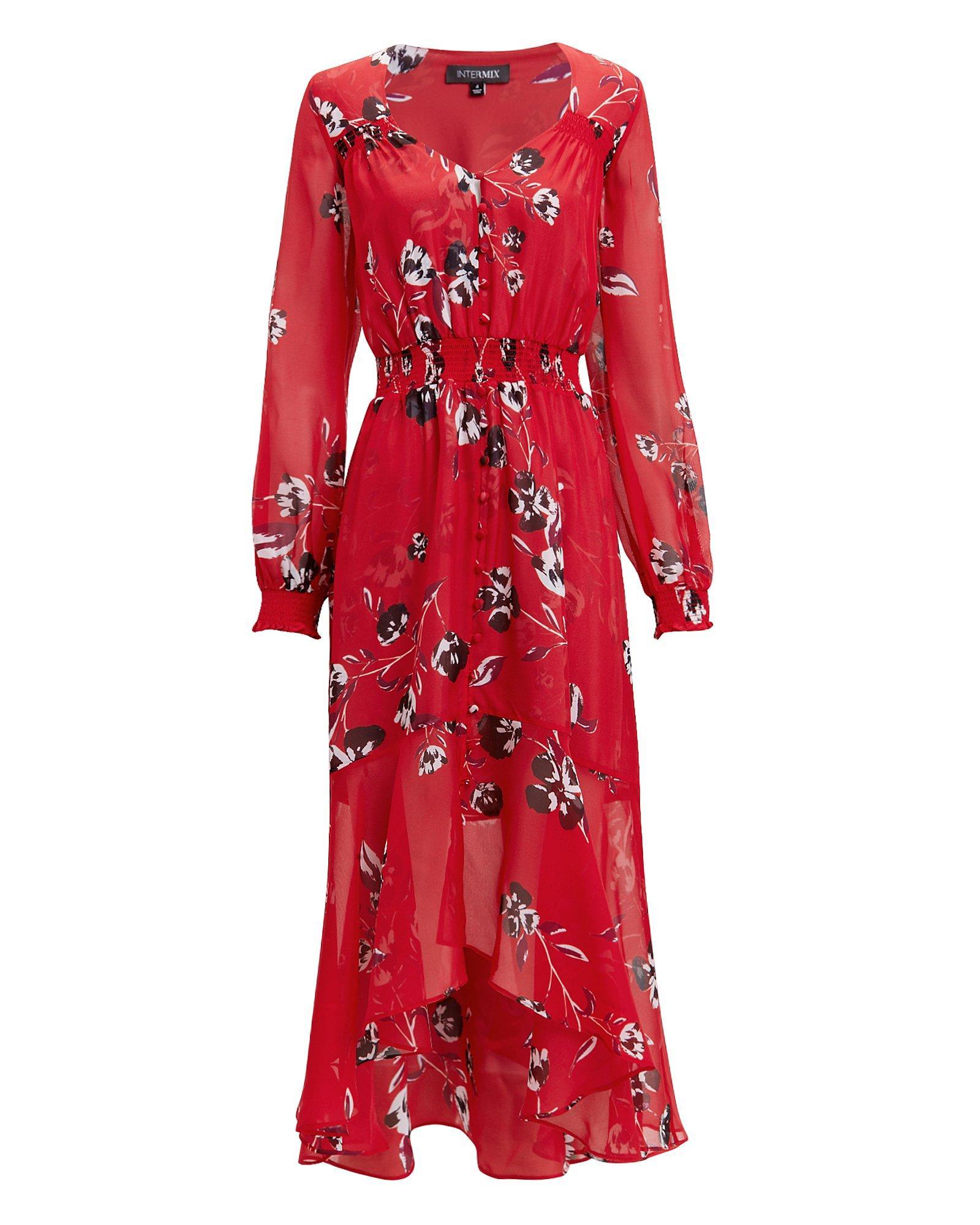 Exclusive For Intermix Deirdre Floral Print Dress