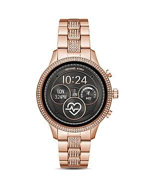 Michael Kors Runway Touchscreen Smartwatch, 41mm In Rose Gold