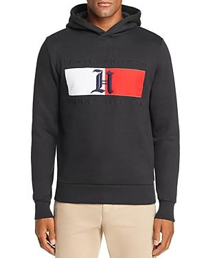 7b62cb5b6 Tommy Hilfiger X Lewis Hamilton Flag Hooded Sweatshirt In Jet Black ...
