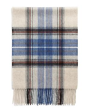 The Men's Store At Bloomingdale's Exploded Tartan Cashmere Scarf - 100% Exclusive In Beige