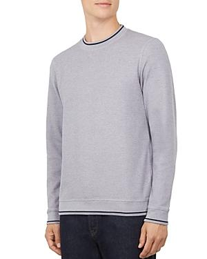 Ted Baker Thersty Textured Sweatshirt In Lilac