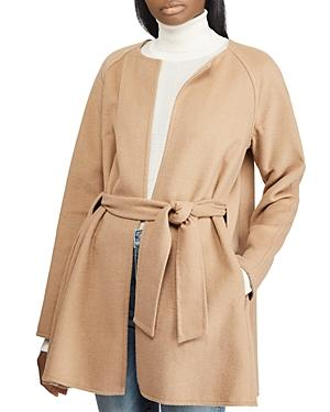 Ralph Lauren Lauren  Belted Coat In Camel