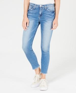 Flying Monkey Raw-hem Skinny Jeans In Lazy Afternoon