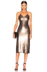 Cinq À Sept Cinq A Sept Sequin Emmalyn Dress In Pewter