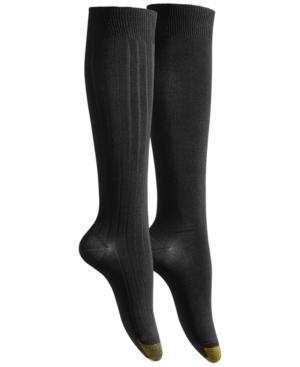Gold Toe Women's 2-pk. Ultra Soft Knee High Socks In Black