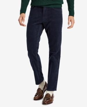 Polo Ralph Lauren Men's Big & Tall Classic Stretch Corduroy Pants In Aviator Navy