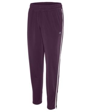 Champion Track Pants In Dark Berry Purple