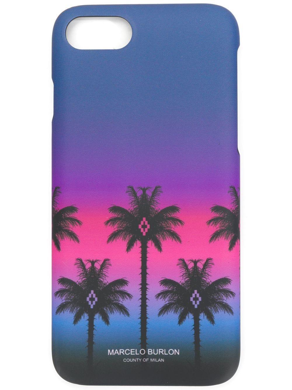 Marcelo Burlon County Of Milan Palms Iphone 7 Case - Multicolour
