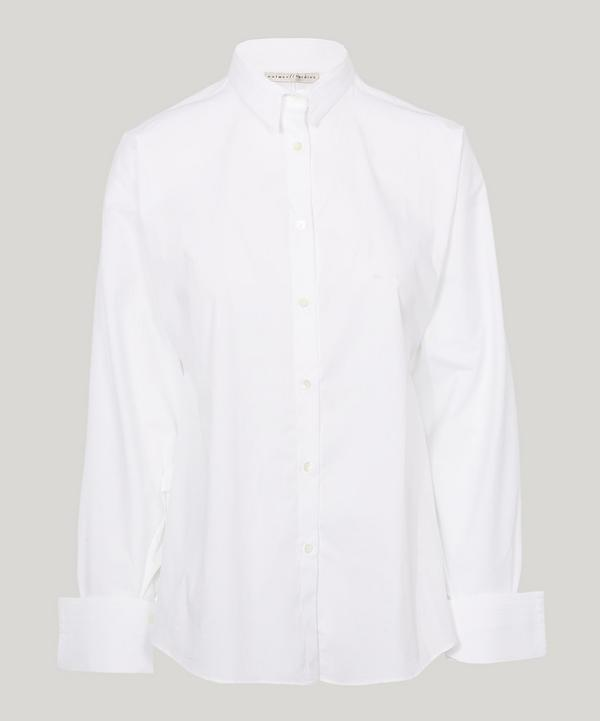 Palmer Harding Classic Solo Shirt In White