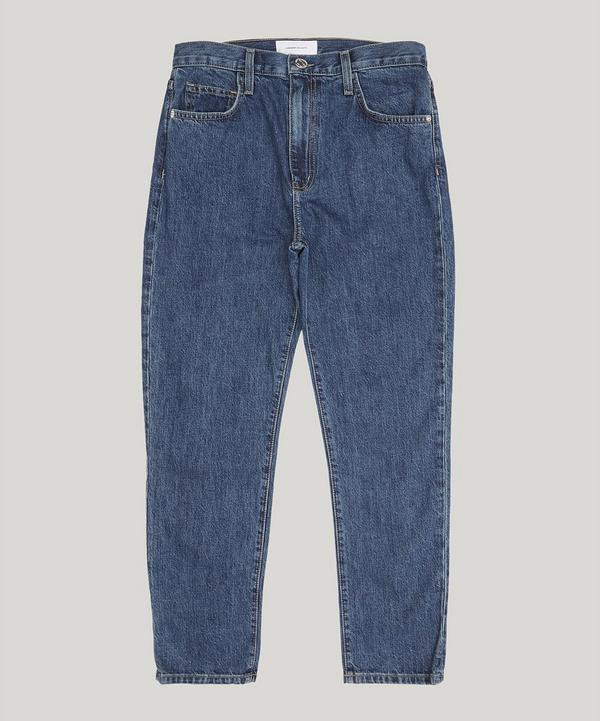 Current Elliott The Vintage Cropped Slim Jeans In Rehan