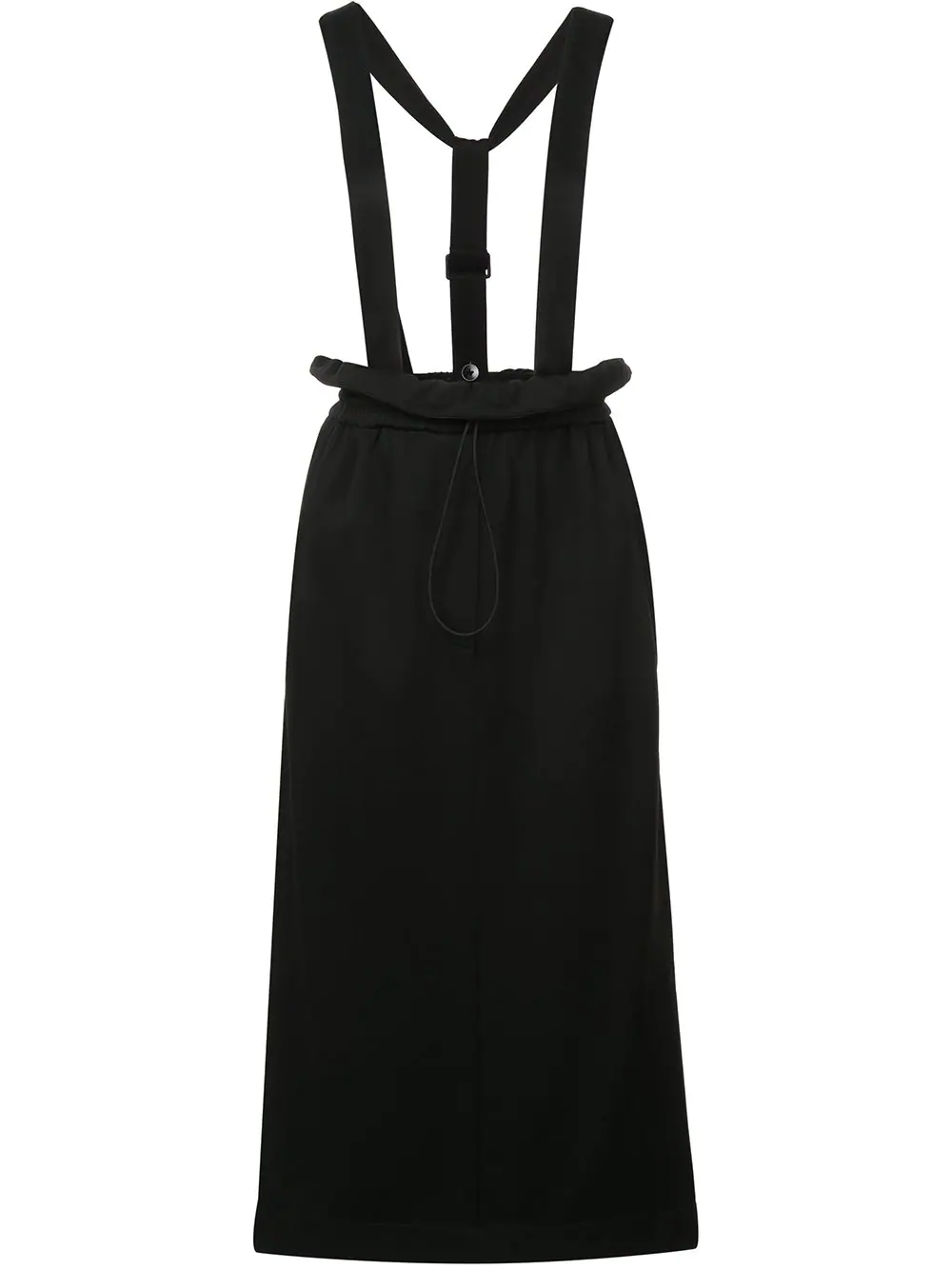 Tibi Astor Detachable Straps Skirt - Black