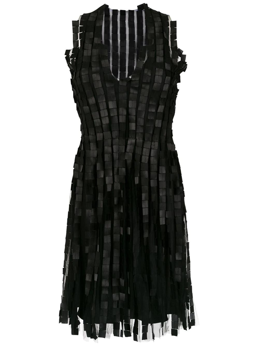 Gloria Coelho Embellished Dress - Black