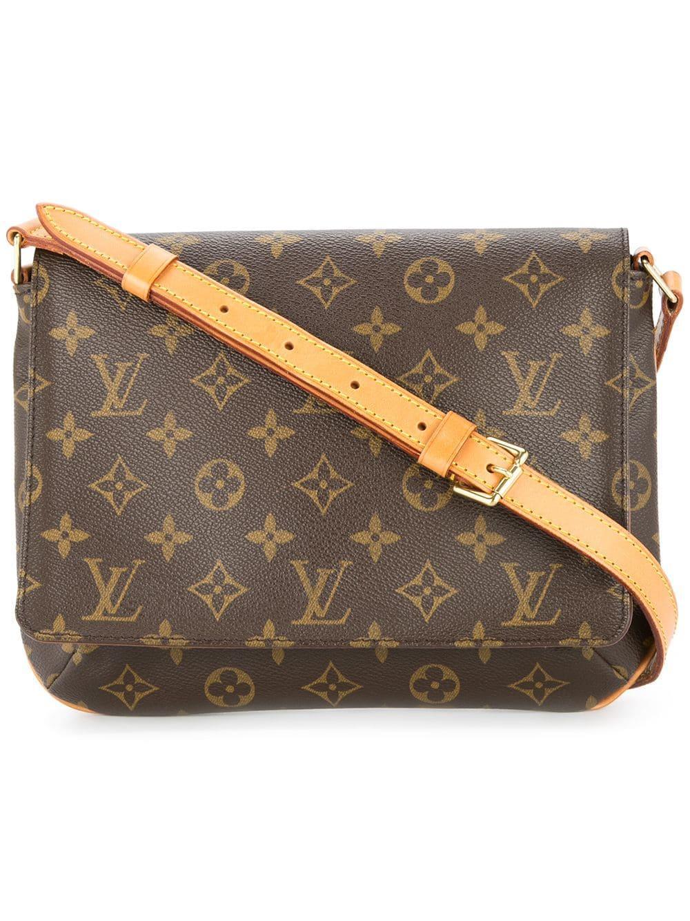 Louis Vuitton Vintage Musette Tango Shoulder Bag - Brown