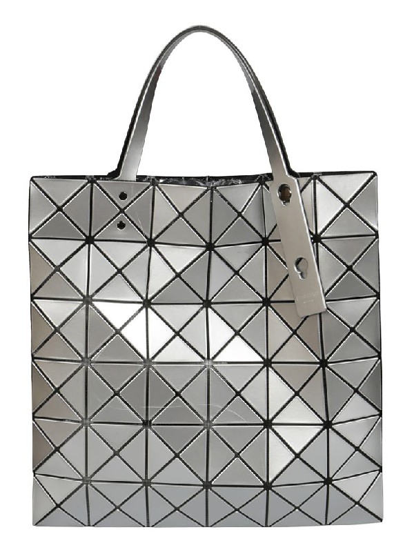 Bao Bao Issey Miyake Prism Tote In Silver