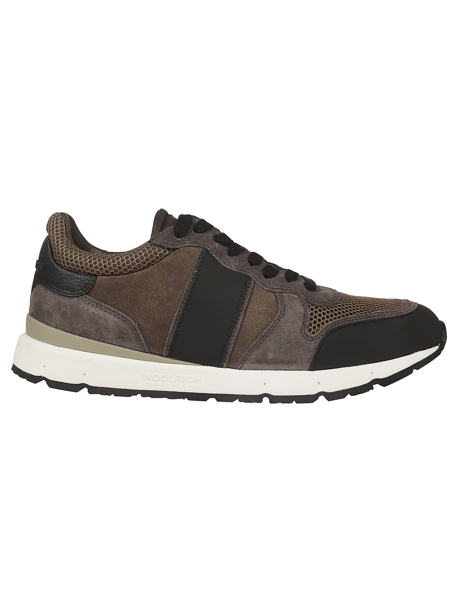 Woolrich Jogger Sneakers In Tortora