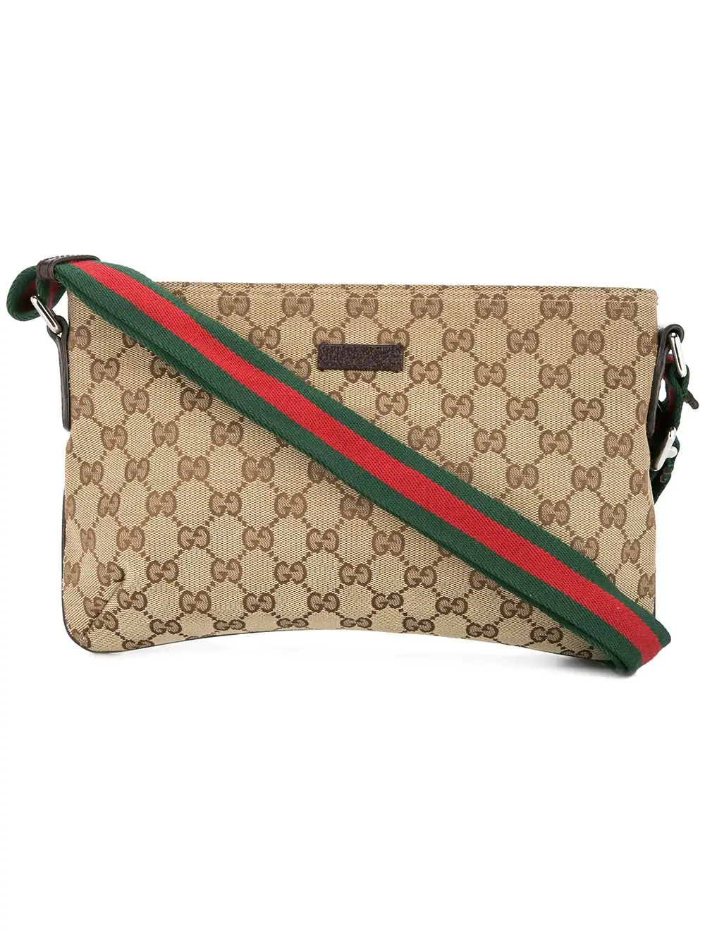 b14eed60185 Gucci Gg Shelly Line Crossbody Shoulder Bag In Brown