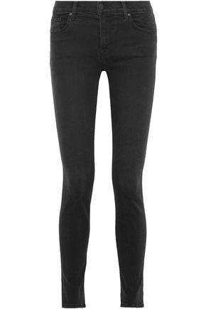 J Brand 811 Mid-rise Skinny Jeans In Anthracite