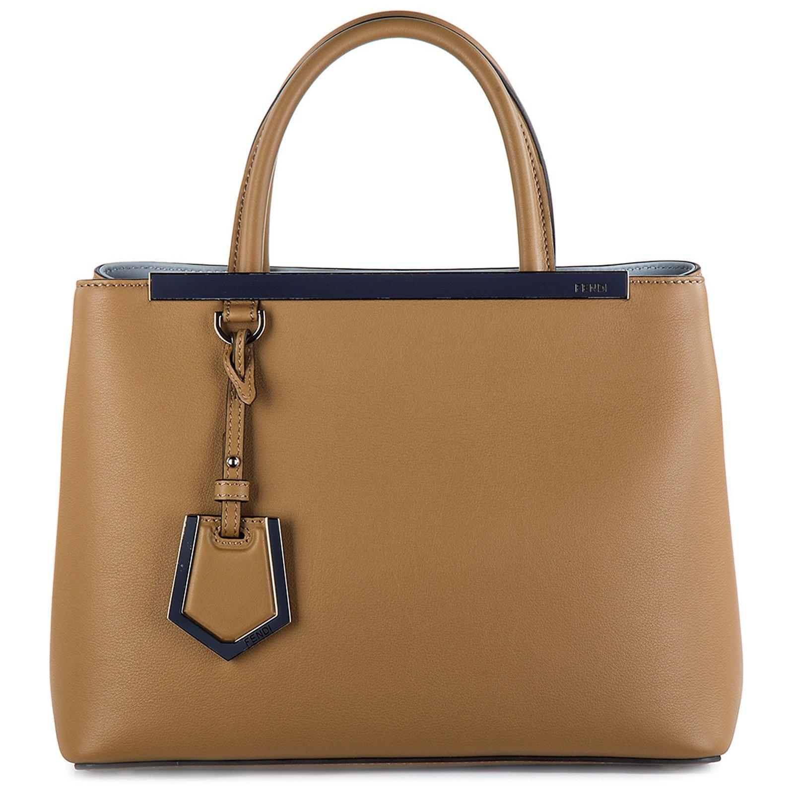 0d1d57d3c0 Fendi 2Jours Tote Bag In Brown | ModeSens