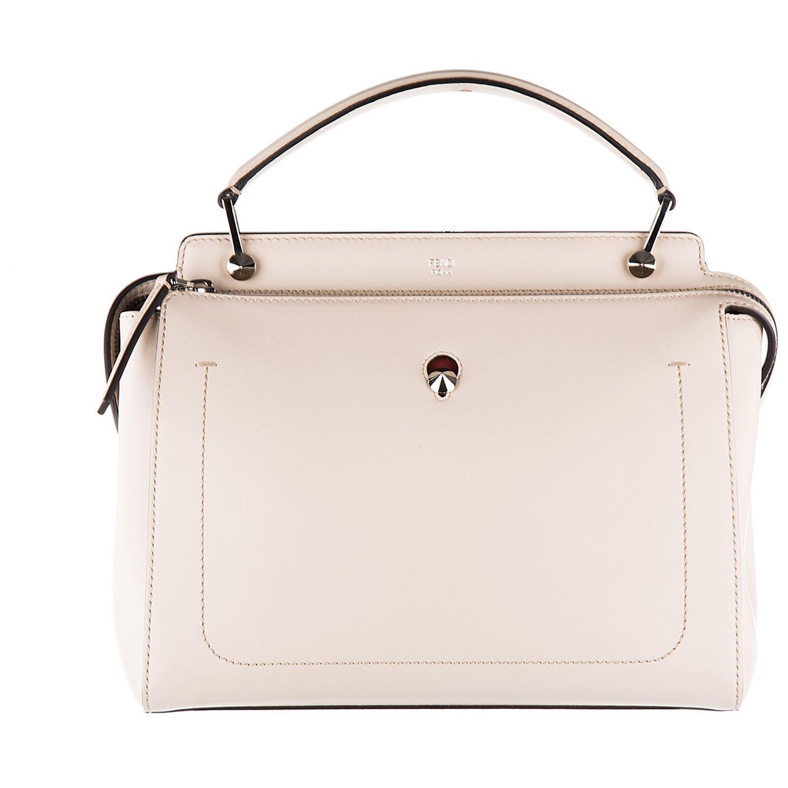 9b08c27455b8 Fendi Dotcom Tote Bag In Pink
