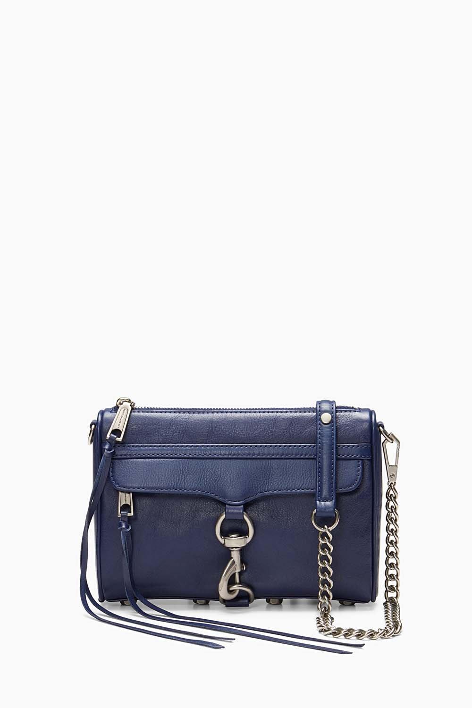 aeb2015ed Rebecca Minkoff True Navy Mini M.A.C. Crossbody Bag     ModeSens
