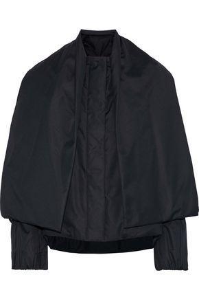 Jil Sander Layered Shell Down Jacket In Black