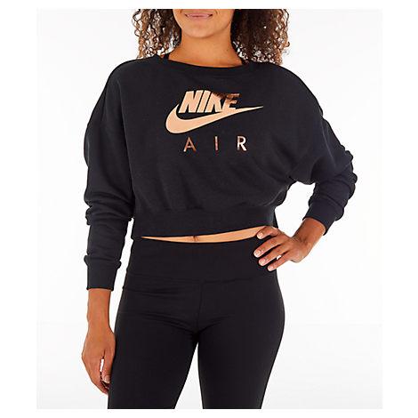 c51eb3ba0a7a Nike Women's Sportswear Rally Crew Sweatshirt, Black   ModeSens