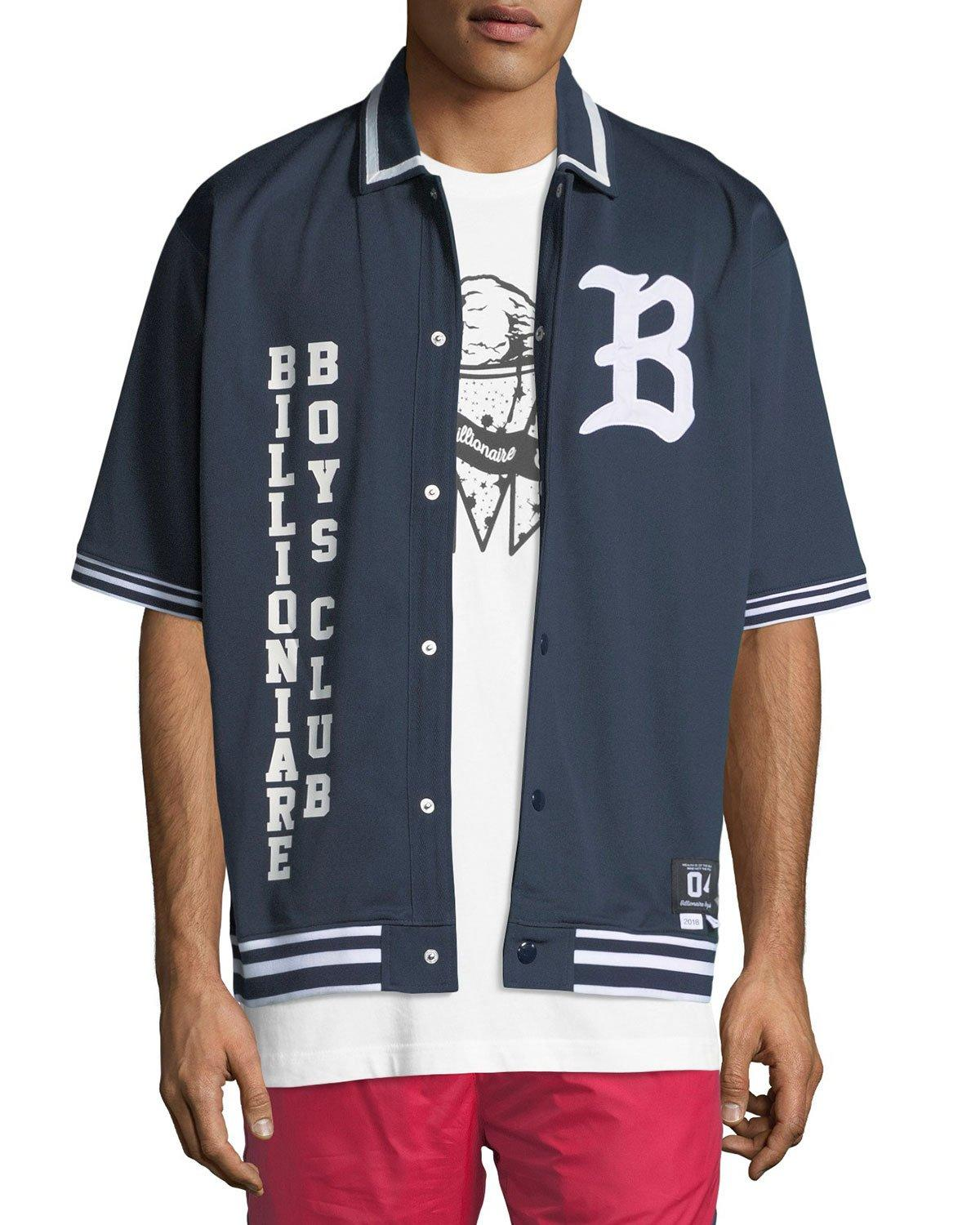 5a266c9b8d Billionaire Boys Club Men's Marquee Short-Sleeve Knit Shirt In Navy. MEMBER  ONLY