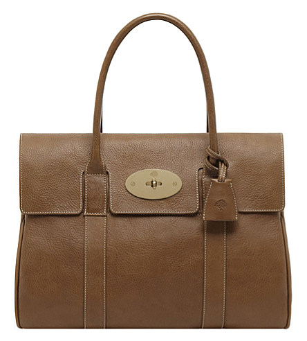 Mulberry Small Bayswater Satchel In Oak