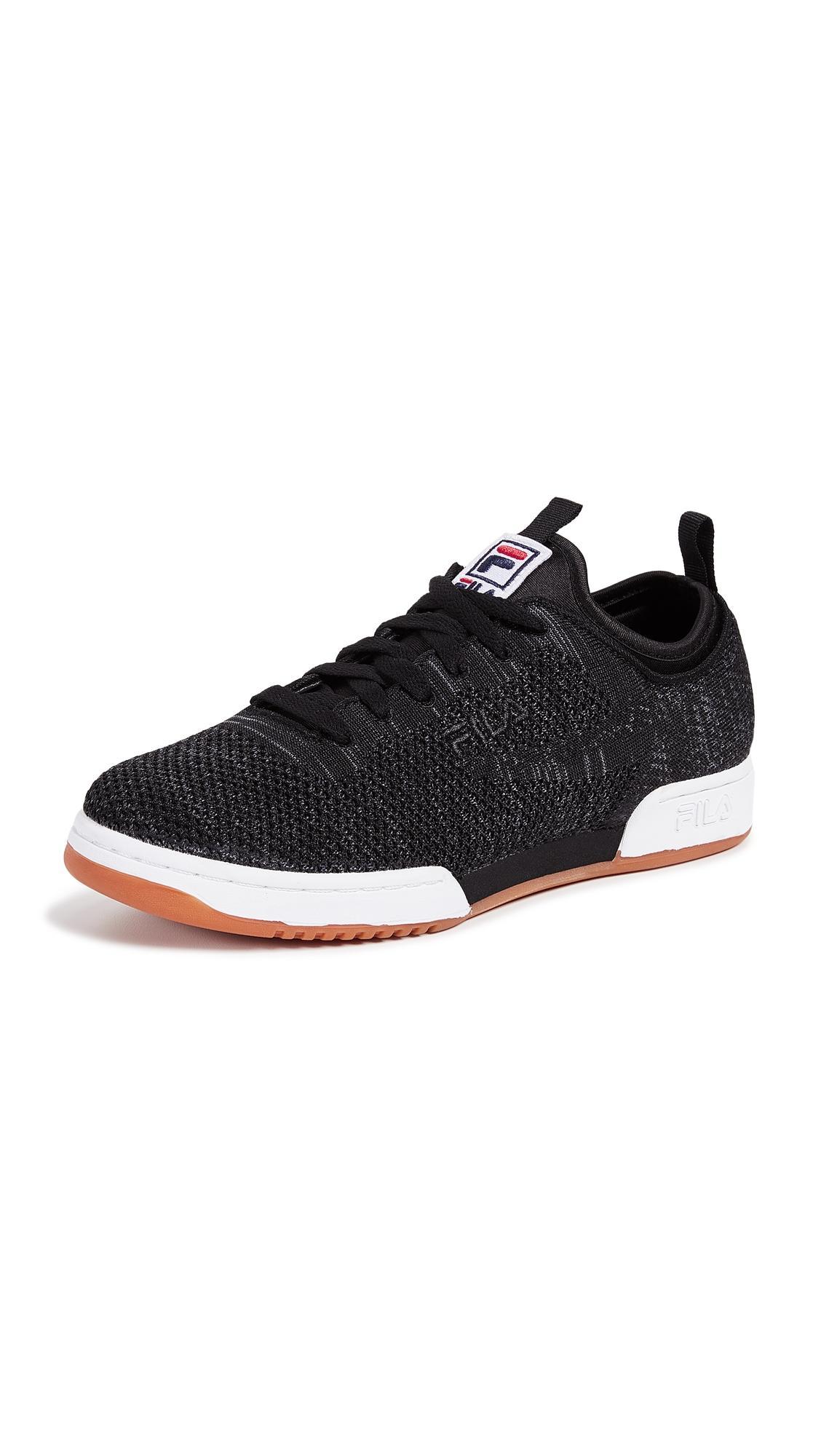 finest selection 8feea fcd9d Fila Original Fitness 2.0 Sneakers In Black White Gum