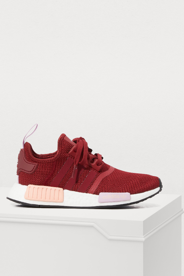 Adidas Originals Women's Nmd R1 Casual Shoes, Red In Bordeaux ...