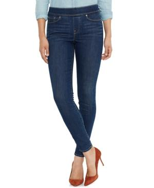 Levi's Skinny Perfectly Slimming Pull-On Jeggings In Indigo