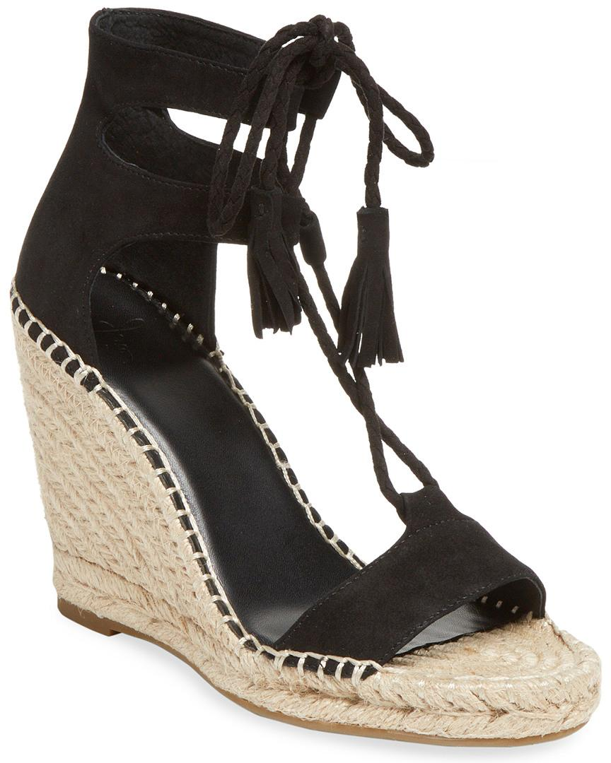 7110ad75afe DELILAH LEATHER WEDGE SANDAL
