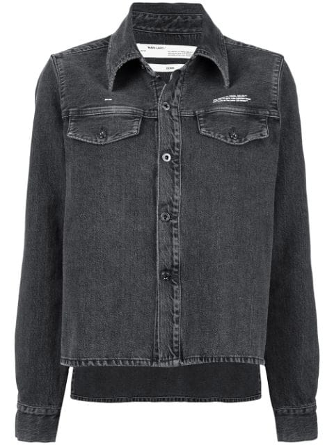 Off-White Denim Jacket - Black