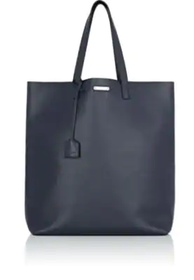67e8827f29 Saint Laurent Leather Tote Bag - Navy - One Siz | ModeSens