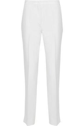 Derek Lam Woman Cady Slim-Leg Pants Ivory