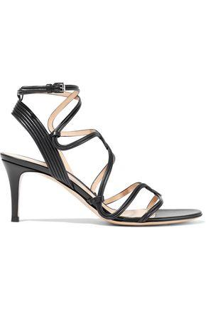 Gianvito Rossi Woman Leather Sandals Black