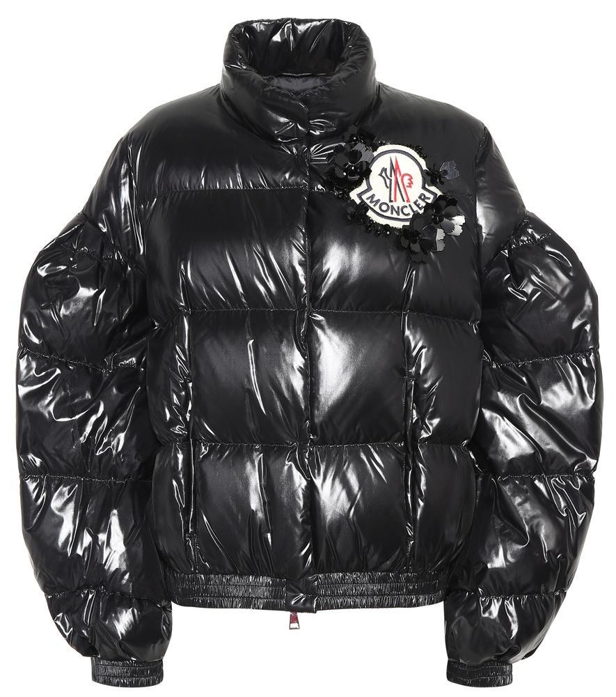 ac6529219204 Moncler Genius 4 Moncler Simone Rocha Carrie Lacquer Puffer Jacket ...