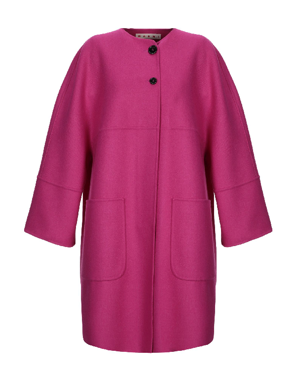 Marni Coat In Pink