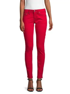 True Religion Skinny-fit Jeans In Ruby Red
